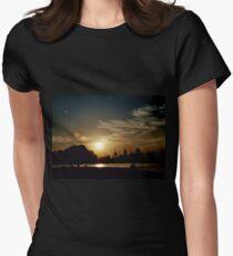 Summer Sunset Women's Fitted T-Shirt