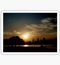 Summer Sunset Sticker