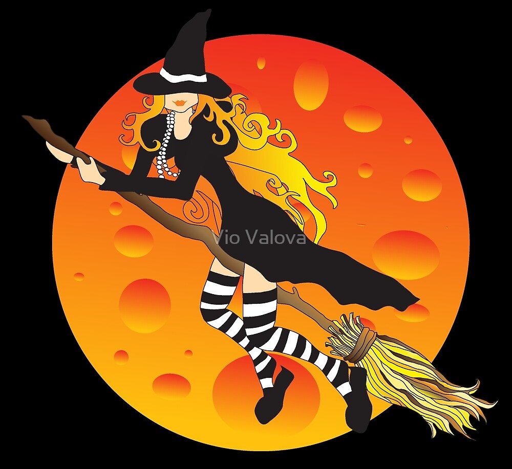 Witch&Moon by VioDeSign