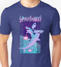 Space Sharks! Slim Fit T-Shirt