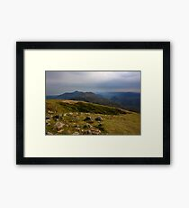 Mourne Mountains From Slieve Commedagh Framed Print