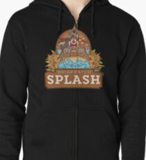Briar Patch Splash Zipped Hoodie