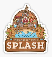 Briar Patch Splash Sticker