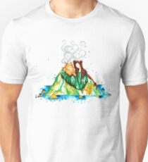 I Lava You Volcanoes in Hawaii - I Love You T-Shirt