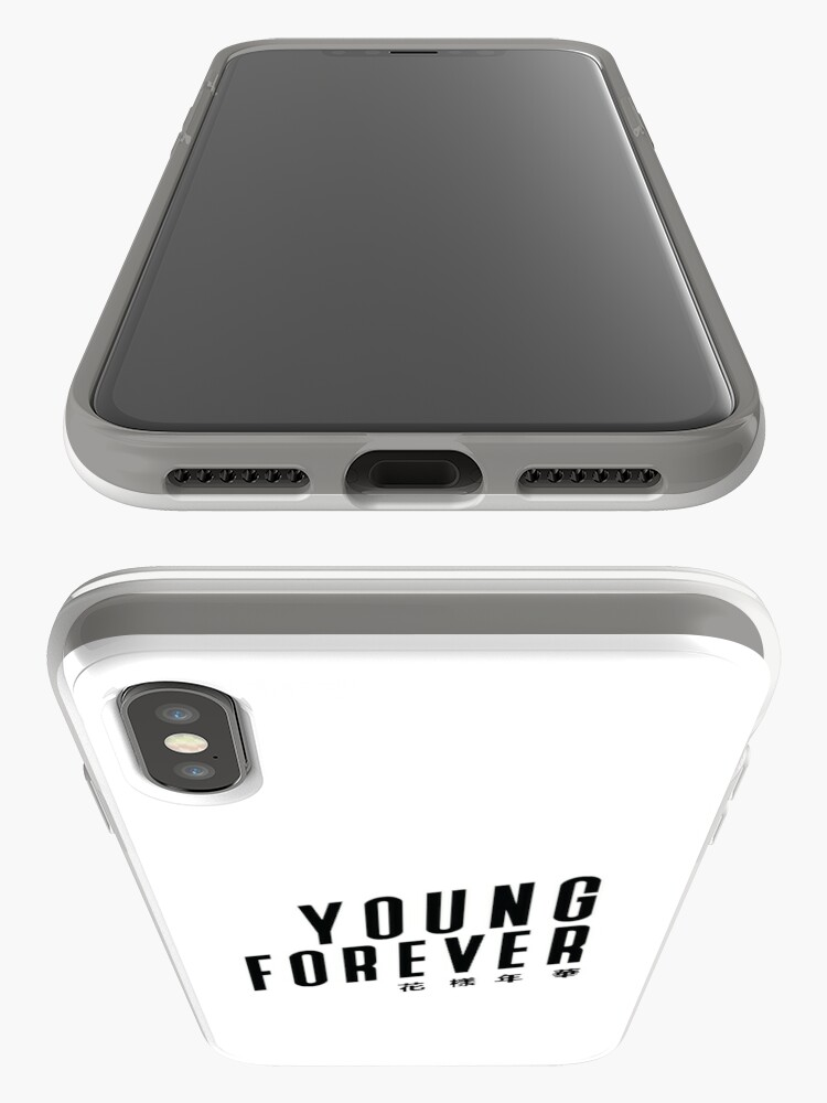 Vista alternativa de Vinilos y fundas para iPhone BTS YOUNG FOREVER