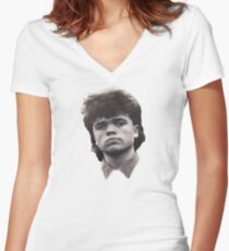 Dinklage Women's Fitted V-Neck T-Shirt