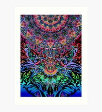 Mandala Energy Art Print