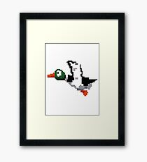 Hunted Duck  Framed Print