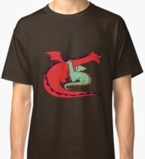 Red and Green Dragon Classic T-Shirt