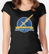 Anor Londo Dragon Slayers Women's Fitted Scoop T-Shirt