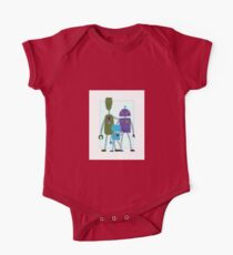 Robot Family One Piece - Short Sleeve