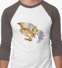 Wisteria Gryphon Men's Baseball ¾ T-Shirt