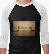 Cape Cod Canal and Bridges Men's Baseball ¾ T-Shirt