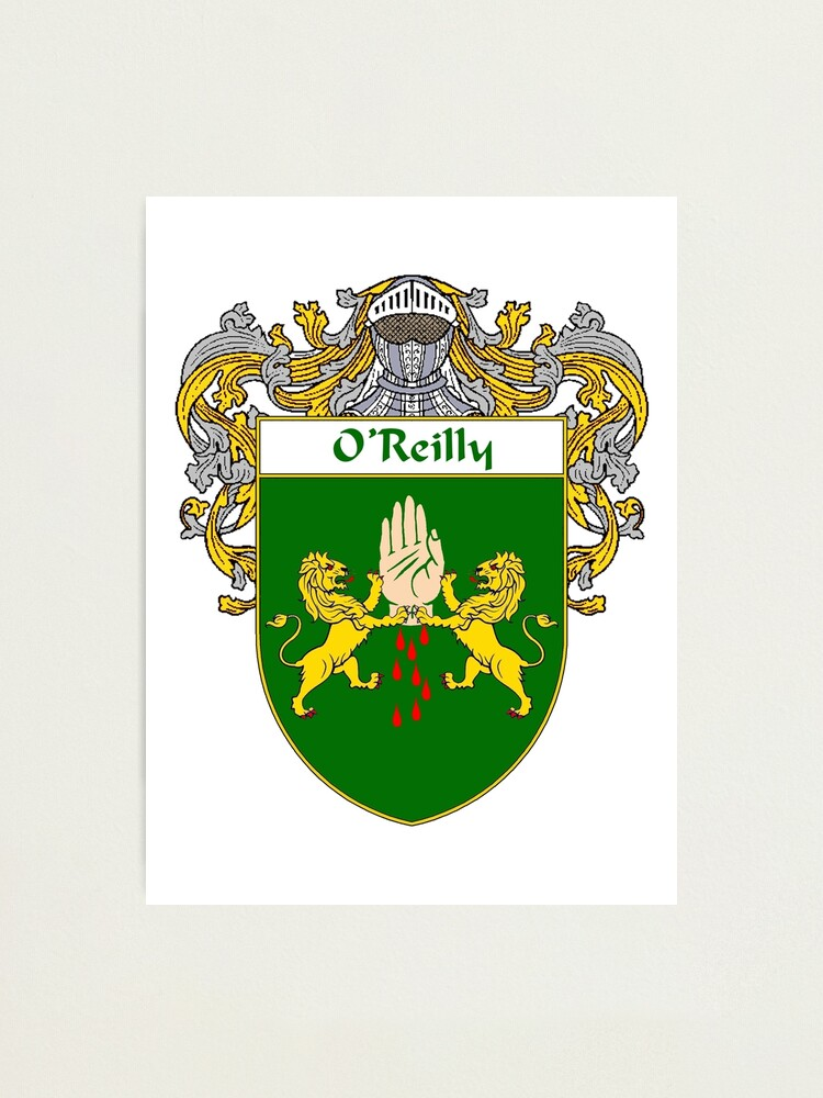 Quot O Reilly Coat Of Arms O Reilly Family Crest