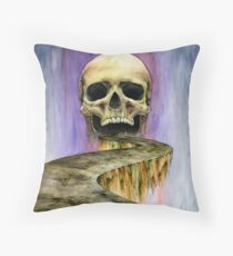 The Allure of Disaster Throw Pillow