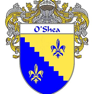 O'Shea Coat of Arms / O'Shea Family Crest by IrishArms