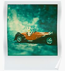 Rabit Car. Romanesque campagne. Poster