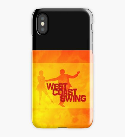 West Coast swing iPhone Case