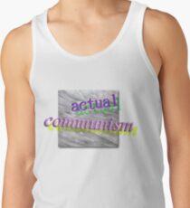 Camisetas de tirantes para hombre comunismo real