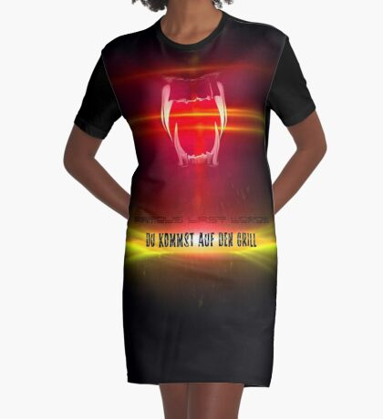 BlackDiamond famous last words - YOU COME ON THE GRILL Graphic T-Shirt Dress
