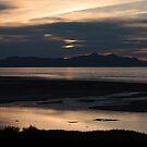 Great Salt Lake at Dusk by Daniel Owens