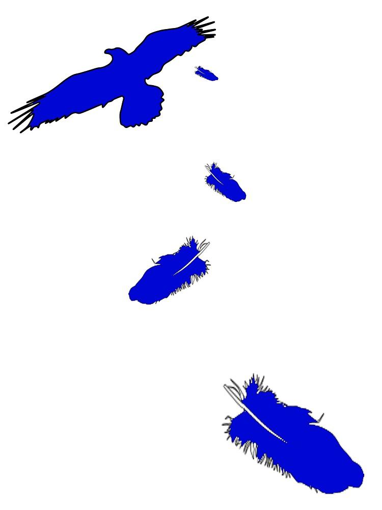 Crow Blue by VenArt
