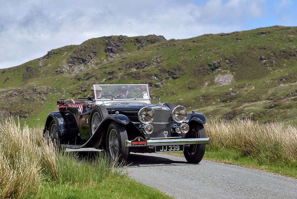 The Three Castles Welsh Trial 2014 - Alvis  by Three-Castles