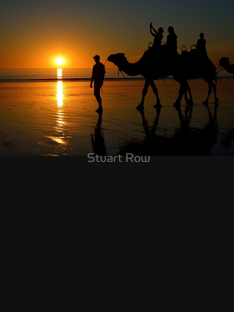 Camels on Cable Beach 1 by StuartRow