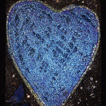 blue heart by Mistresslisa666