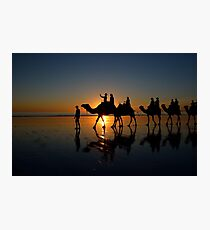 Camels on Cable Beach 2 Photographic Print