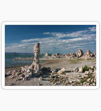 Mono Lake Shores Sticker