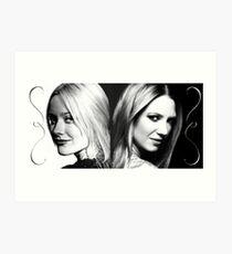 Fringe Etta & Olivia Art Print