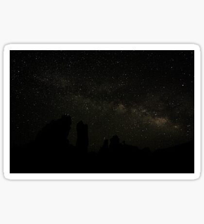 Mono Lake Milky Way Sticker