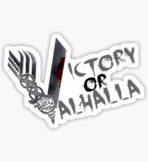 Victory or Valhalla Sticker