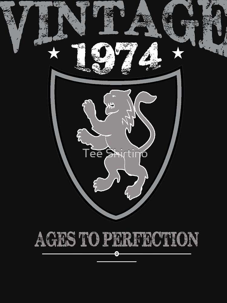 Vintage T-shirt Design by zikoblade