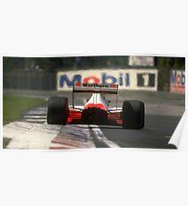 Formula 1 Ayrton Senna Imola Poster