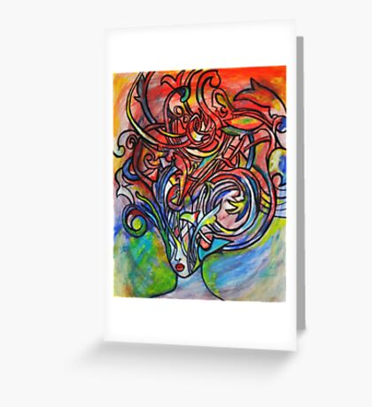 We Are Real Greeting Card