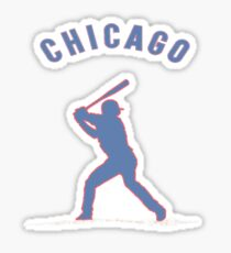 Kris bryant for the cubbies Sticker