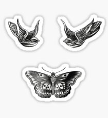 Harry Styles Tattoos Sticker