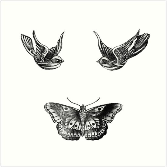 Láminas Artísticas Harry Styles Tatuajes De Johnsmoustache Redbubble