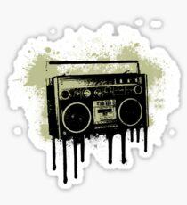 Portable Stereo Splatter Sticker