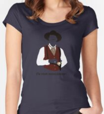 Tombstone: That's Just My Game Women's Fitted Scoop T-Shirt