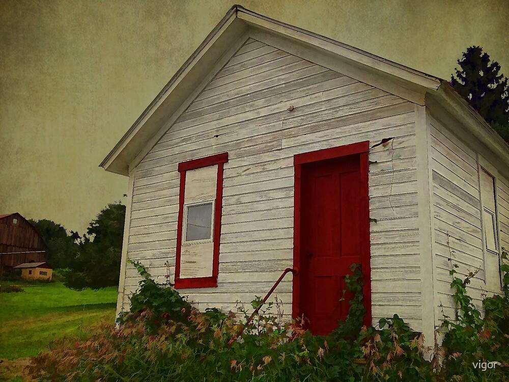 The Red Door by vigor
