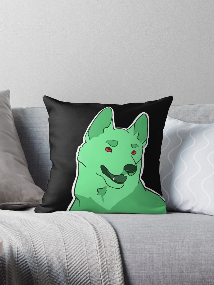 Dramatic German Shepherd in Mint by oliveriley
