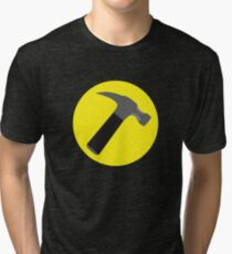 Captain Hammer Tri-blend T-Shirt