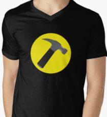 Captain Hammer Men's V-Neck T-Shirt