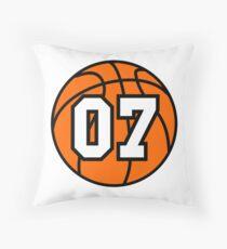 Basketball 07 Throw Pillow