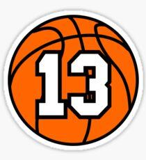 Basketball 13 Sticker