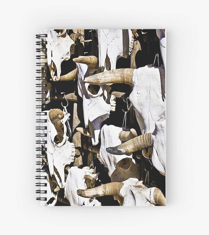 Ipad Case - Cow Skulls by mpodger