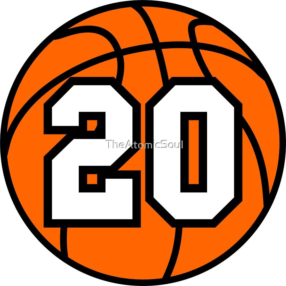 Basketball 20 by TheAtomicSoul